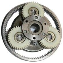 1 Set 36T Gear Diameter:38Mm Thickness:12Mm High Speed Electric Motor Motor Nylon Gear + Ring Gear + Clutch