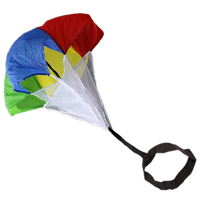 Hot Sale Speed Training Resistance Parachute Classic Delicate Kids Speed Training Resistance Parachute Running Chute With Bag