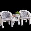Журнальный столик Европейский стиль круглый стул гостиная круглый стол из твердой древесины журнальный столик простой балкон стул маленьк...
