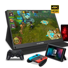 12.5 13.3 15.6 inch 4K Portable Monitor HDMI USB-C IPS LCD 1080P Video Gaming Monitor for Raspberry Pi PS3/PS4/Xbox 360(China)