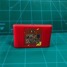 KYเทคโนโลยีDIY 340 In 1 Retro Super 64บิตการ์ดเกมสำหรับN64คอนโซลวิดีโอเกมCartridge