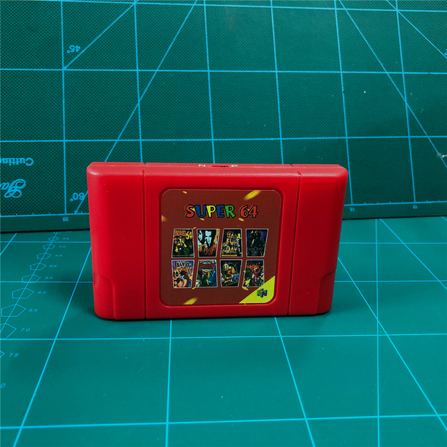 KY Technology DIY 340 in 1 Retro Super 64 Bit Game Card for N64 Video Game Console Cartridge
