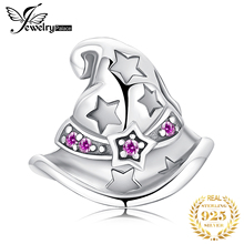 JewelryPalace Stars Hat 925 Sterling Silver Beads Charms Original For Bracelet original Jewelry Making