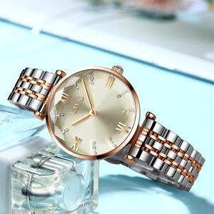 Image 4 - CIVO 2020 mode luxe dames montres bracelets haut de gamme en or Rose Bracelet en acier étanche femmes Bracelet montre Zegarek Damski