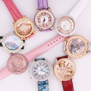 SALE!!! Discount Melissa Crystal Old Types Lady Women's Watch Japan Mov't Fashion Hours Bracelet Leather Girl's Gift Box(China)
