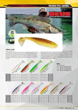 Biwaa DEUS Paddle Tail ตกปลา lure swimbait shad (China)