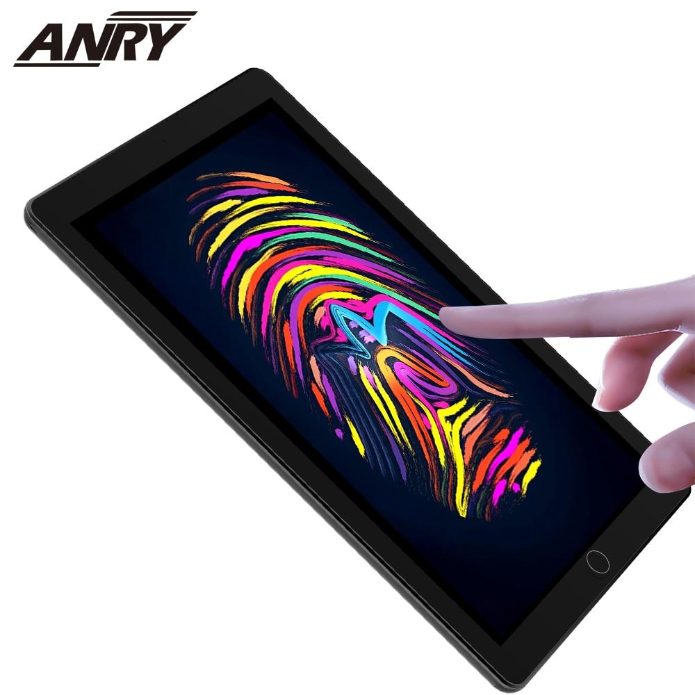 Anry 4g telefone chamada tablets 10 polegada android 8.1 tela de toque octa núcleo 2gb + 32 wifi gps bluetooth crianças aprendizagem phablet