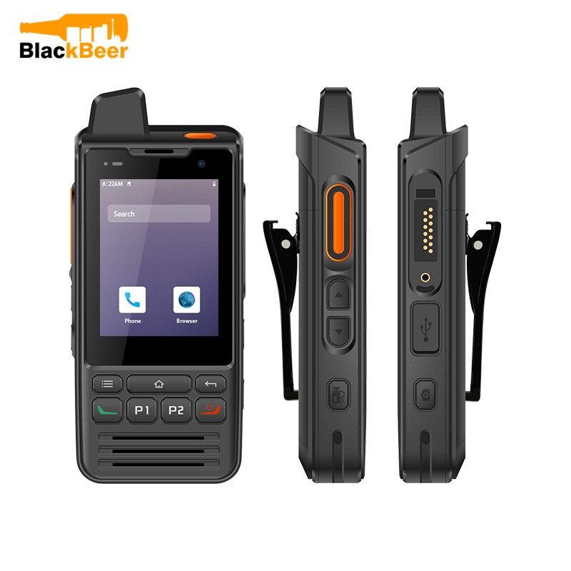 UNIWA F60 IP68 Waterproof Walkie Talkie Android 9.0 Cellphone 2.8Inch 4G Mobile Phone Zello 5300mAh Dual SIM PTT 2W Loudspeaker