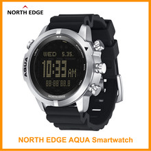 NORTH EDGE Men's Diving Digital Watch Scuba Diving NDL (No Deco Time) 50M Dive Watches Altimeter Compass For Huawei Android IOS