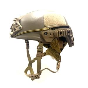 Image 5 - DEWBest Ballistic ACH High  2021 years Tactical Helmet Bulletproof FAST Aramid Safety NIJ Level IIIA Military Army A TACS