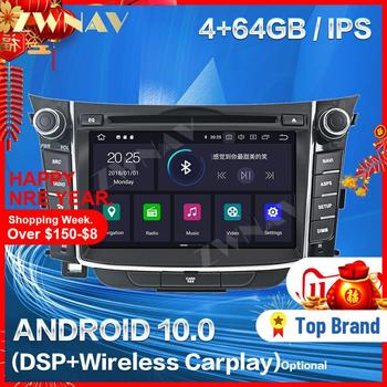 Carplay For Hyundai I30 Elantra GT 2012 2013 2014 2015 2016 2017 2018 Android Player GPS Unit Auto Audio Stereo Radio Recorder image