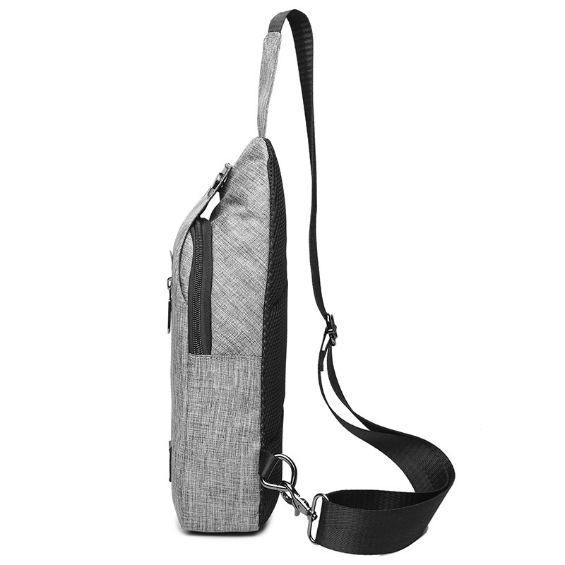 Men Chest Pack Sports Waist Pack Crossbody Bag Men's Bag Outdoor Women's Korean-style Popular Brand Backpack
