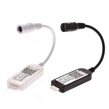 Wifi Mini RGB Bluetooth Controller DC 5V 12V 24V Mini Music Lighting Controller Light Strip Controller For RGB RGBW LED Strip - DISCOUNT ITEM  46% OFF All Category