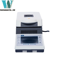 Free Shipping 110g 0.1% Touch Screen Capacity Halogen Heating Lab Moisture Analyzer FOR Grain Straw Food Mineral Accuracy 10mg