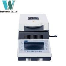 Analizador de humedad del analizador, pantalla táctil de alta precisión, 50g, 0,01g, Envío Gratis