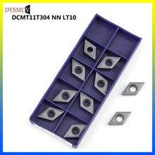 10pcs LAMINA 100% original DCMT 11T304 NN LT10 CNC insert carbide milling insert DCMT11T304 NN LT10
