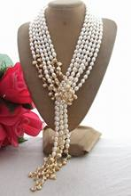 "3Strands 49 ""Pearl Biwa Mutiara Kalung(China)"