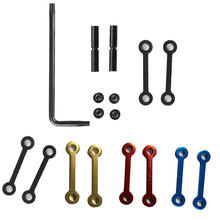 EWOLF 4 colors Anti Walk Rotation Pins Side Plates Trigger Hammer Pins for M4 AR15 M16