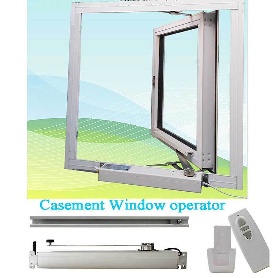 Automatic Manual Casement Window Close/open Motor Actuator Opener Skylight/Greenhouse Inward Window Operator Wifi Tuya 220V