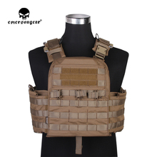 emersongear Emerson CPC Tactical Vest Plate Carrier Molle Adjustable Body Armor Airsoft Military Combat Vest Protective Gear emerson assault plate carrier tactical vest airsoft painball molle combat gear coyote brown
