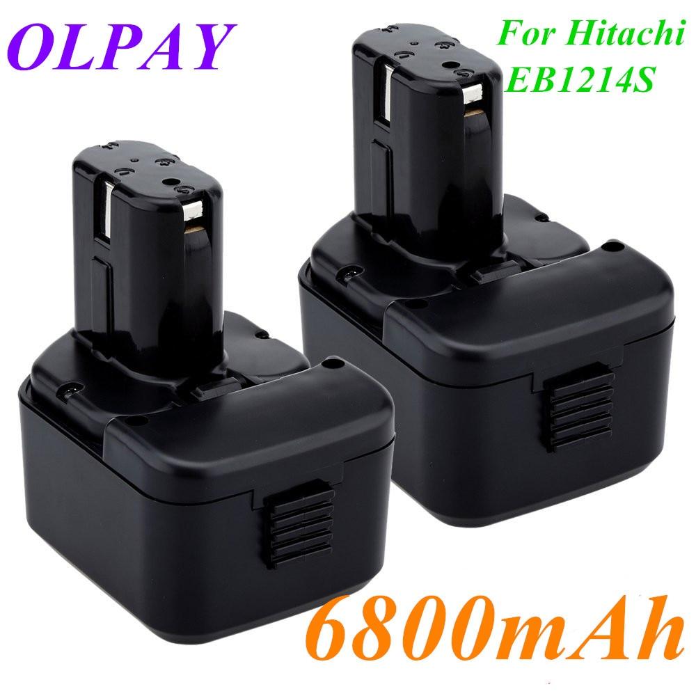 2020 Original Quality 6800mAh 12V 6.8Ah Battery For Hitachi EB1214S 12V EB1220BL EB1212S WR12DMR CD4D DH15DV C5D DS 12DVF3