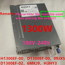 PSU Power-Supply 1300W Dell New for T5600/T5610/T7600/.. H1300EF-00/02 A