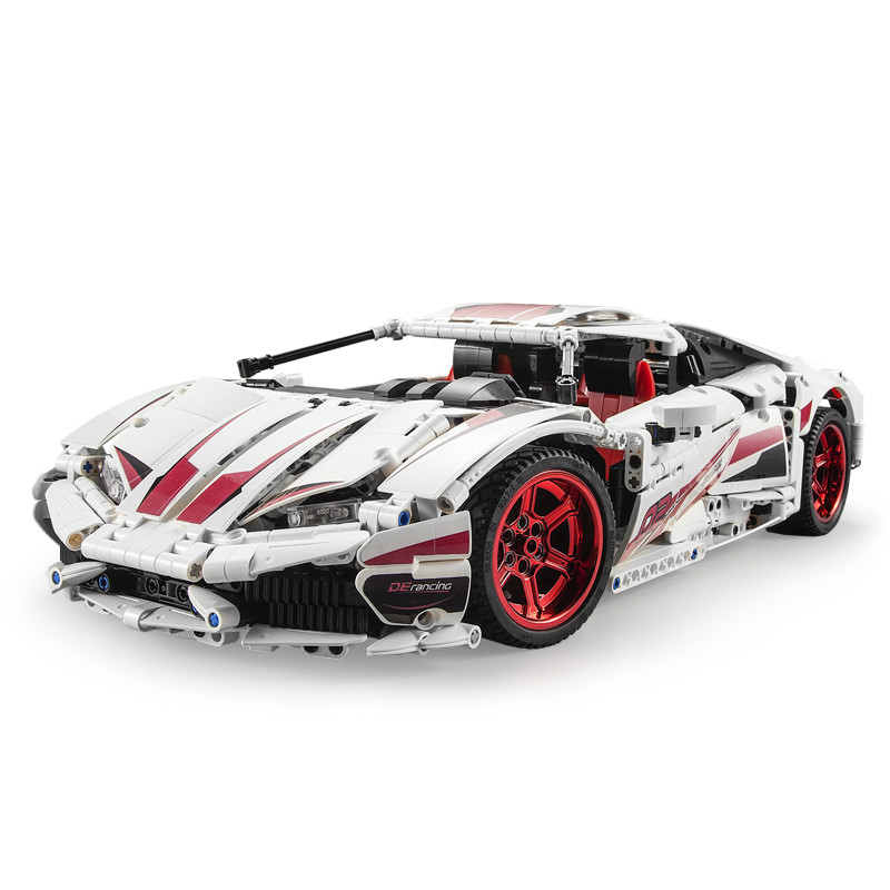 NEW CADA LP610 RC Super Racing Car Bricks Compatible Technic Model Building Blocks Remote Control Car Racing Toys For Children