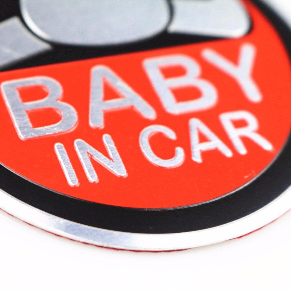 Новый ребенок в автомобиле, Алюминий автомобиль наклейкой для bmw benz vw audi Форд Киа hyundai Nissan VW toyota Mazda Вольво Лексус автомобильные аксессуары