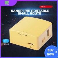 Friendly NanoPi R1S portable small route  all Chi H3/H5 dual Gigabit Ethernet port 512M memory OpenWRT