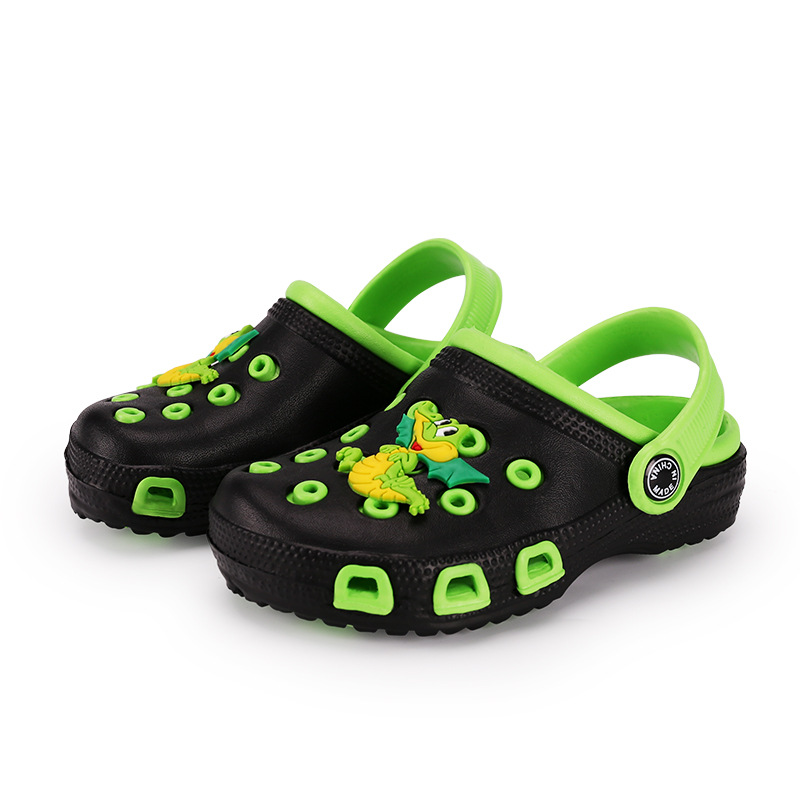 Kids Cartoon Hole Shoe Baby Cute Beach Shoes Boy Girl Antiskid Sandal Toddler Spring Summer Slipper Ins Style