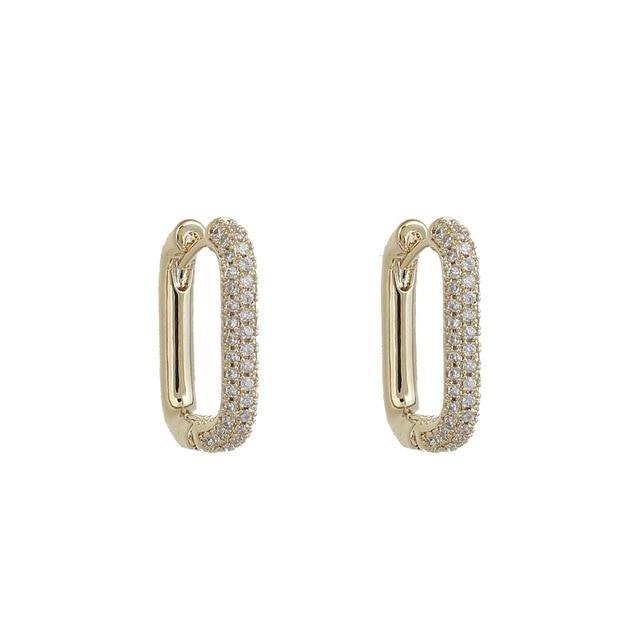 2021 coreano moda nova requintado simples brincos geométricos temperamento pequeno versátil brincos jóias femininas 4
