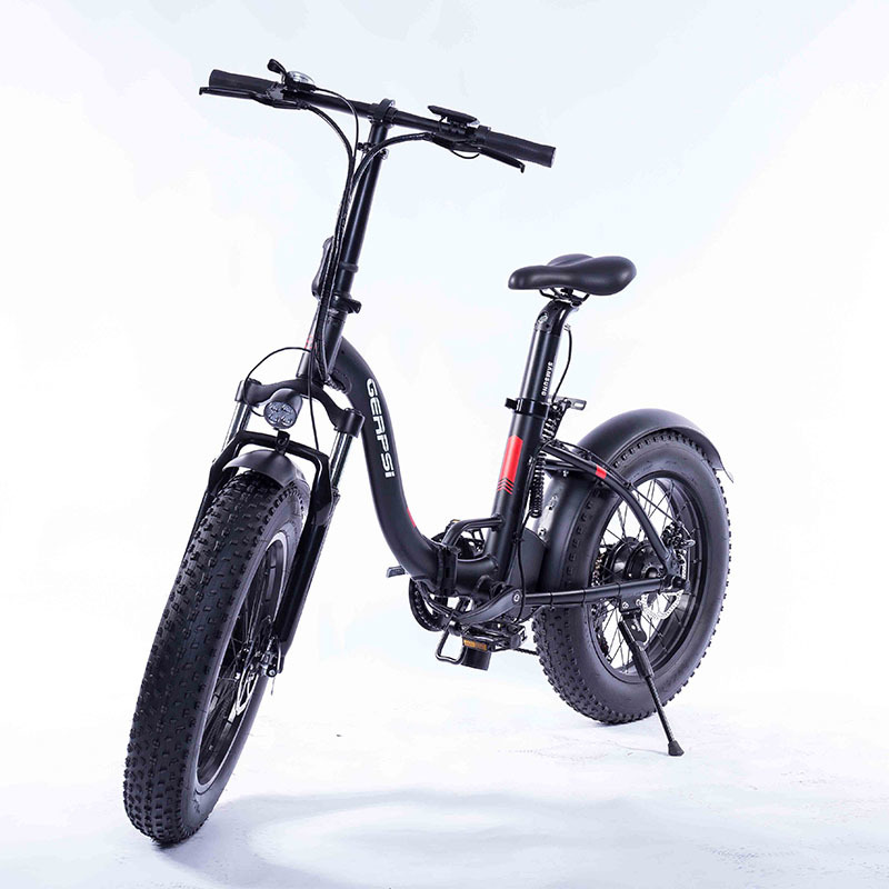 "Gps-02012ea 20"" New Much Popular Fat Tire Folding Bicycle Electric Folding Bike E-bike Fat Ebike 36 V electric bike cheap 2"