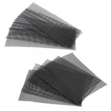 5 шт. Садоводство Цветочный Горшок сеточный коврик завод горшечный бонсай дно решетчатый коврик