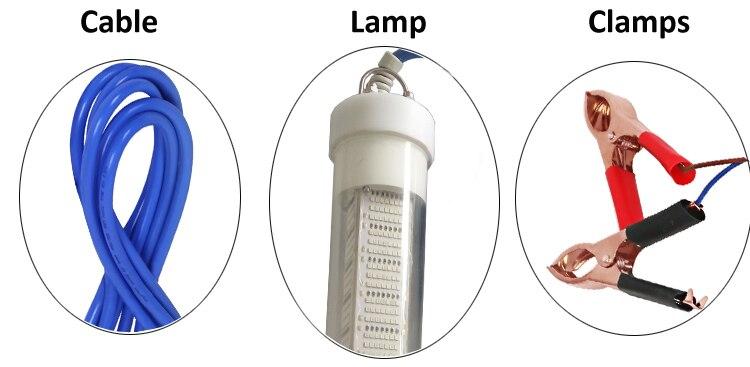 pesca isca inventor de peixes lampada atrai camarao lula krill 4 cores 04