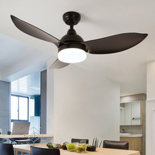 42 Inch Ceiling Fans 3 Blades Wooden Three Colors Remote Control Reative Wood Fan 24w 220v for Living room Restaurant Lighting