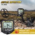 Unterirdischen Metall Detektor TX-850 Hohe Empfindlichkeit Metall Hunter Gold Digger Schatzjäger Tiefe 2,5 m Finder Punkt Detektor