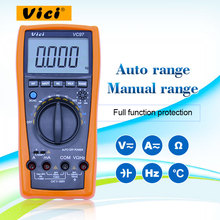VICI VC97 digital-multimeter voltmeter AC/DC spannung strom Widerstand Kapazität frequenz Tester multimetro vc97