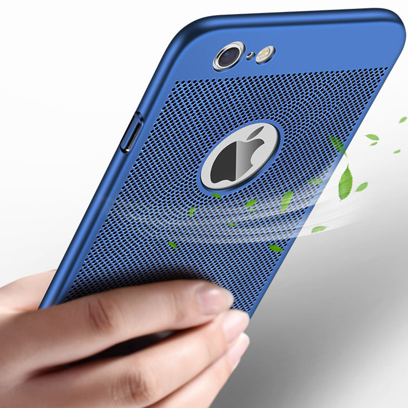 熱放散 Funda 用 iPhone 6s 6 7 8 プラスケース赤ウルトラ用 xr 11 プロ xs max x ケースハード Pc の電話 Coque
