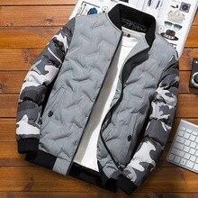 Winter Jacket Men 2019 Casual Camouflage Thick Warm Coat Mens Parka Male Fashion Hooded Parkas M-4XL Plus Size