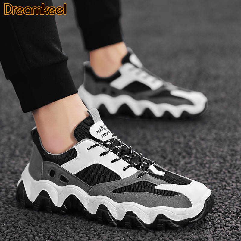 חיצוני מזדמן גברים ספורט נעלי ריצת גברים סניקרס אופנה לנשימה קשה ללבוש אבא נעלי הליכה נעלי Dropshipping R