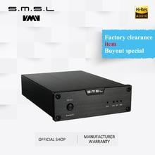 SMSL Sanskrit 6th Anniversary Edition DAC Analog Audio Decoder 32bit/192kHz with USB Optical Coaxial Input Black Silver