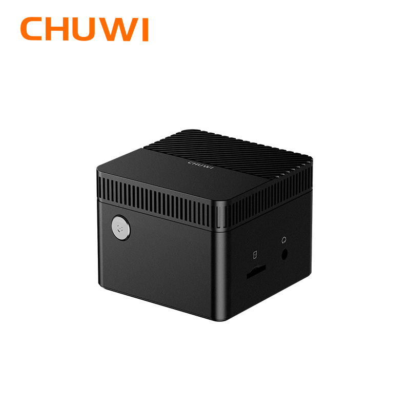 CHUWI LarkBox мир очень маленький мини-ПК windows 10 система 4K процессор Intel Celeron J4115 четырехъядерный 6 Гб RAM 128G EMMC