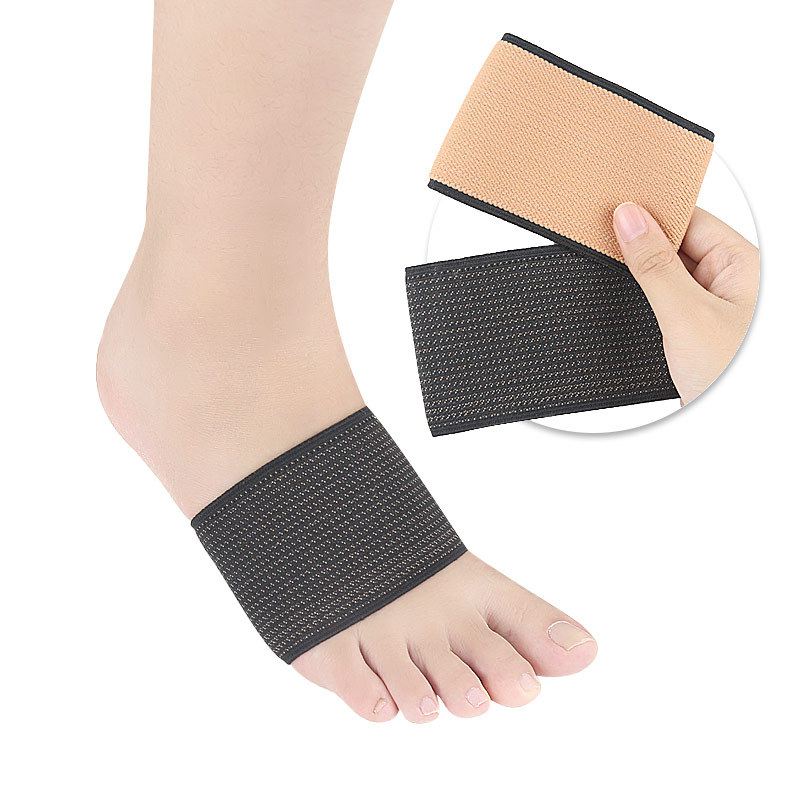 Upgraded Copper Elastic Bandage Ankle Protector Men And Women Bandage Protective Clothing Copper Fiber Sprain Fixed Foot Care Ca
