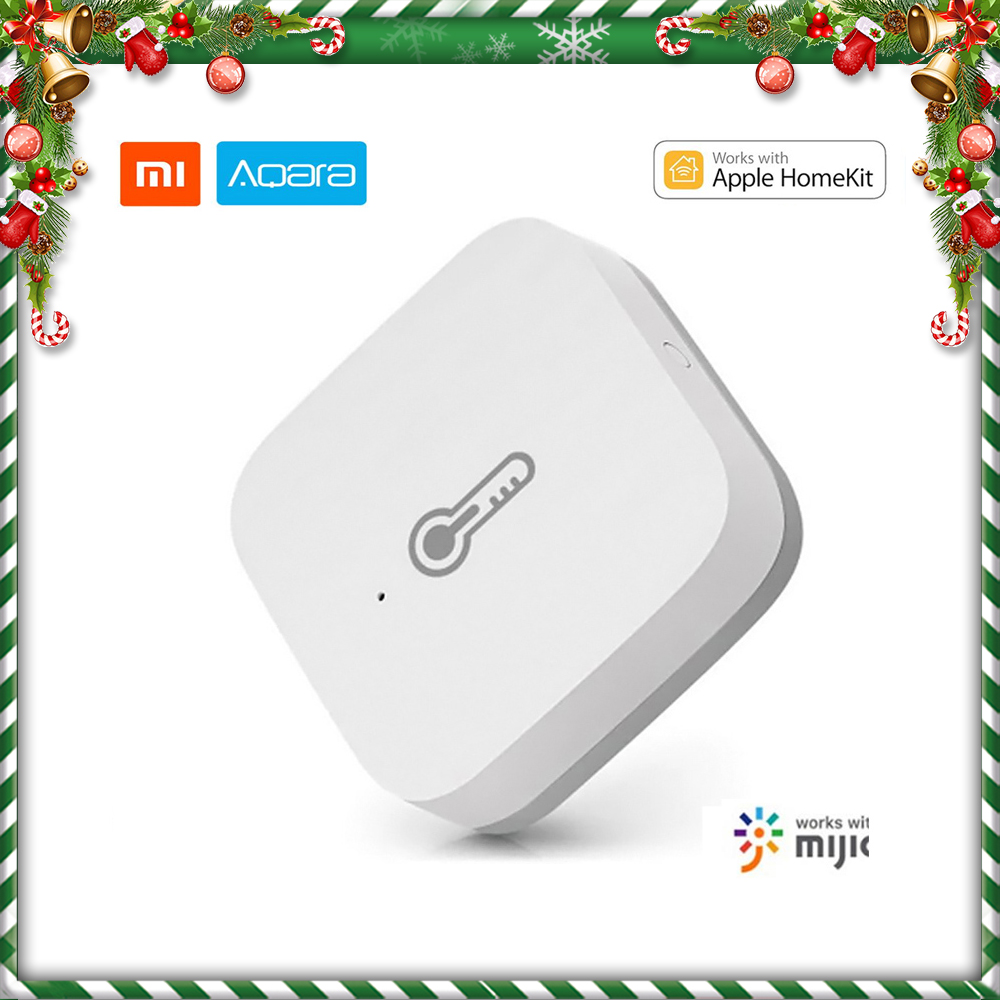 Xiaomi Aqara Temperature Humidity Sensor Smart Home Air Pressure ZigBee Wireless Compatible HomeKit MiHome App Gateway Control