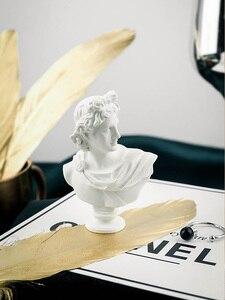 Image 5 - Sculpture nordique créative plâtre mythologie grecque Imitation résine tête humaine Photo décors décoratifs pour accessoires de photographie