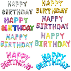 16 cal list z okazji urodzin Party dekoracje dla dzieci balony foliowe Baby Shower zaopatrzenie firm rodziny Party Hang list powietrza Globo
