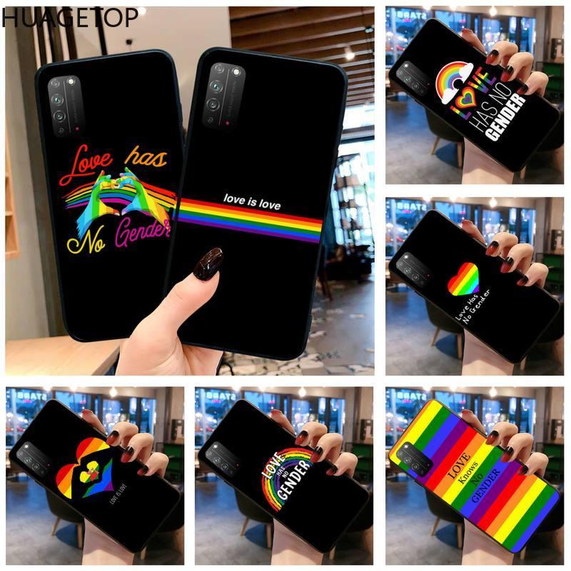 Чехол для Huawei Honor 30 20 10 9 8 8x 8c v30 Lite view 7A pro LGBTQ Pride parade