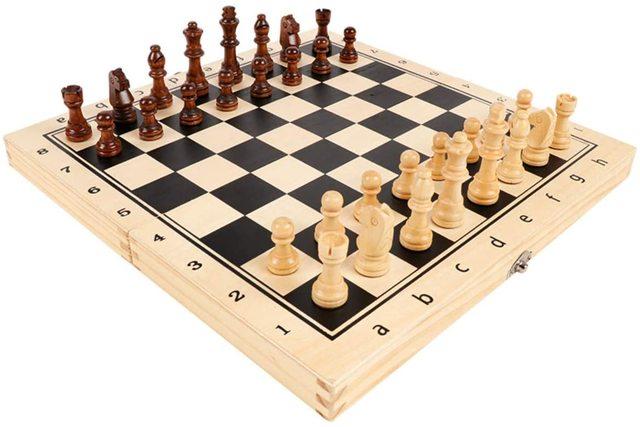 39CM grand tournoi magnétique Staunton jeu d'échecs en bois avec Chesspiece artisanal et fentes de rangement 2 reine supplémentaire 2