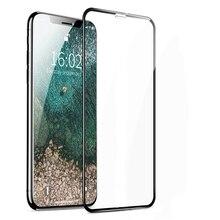 MUSTTRUE Couverture Complète pour iPhone 11 Pro 6 6S 8 7 plus Verre pour iPhone X XR XS MAX Écran Protecteur pour iPhone 11 Pro MAX verre