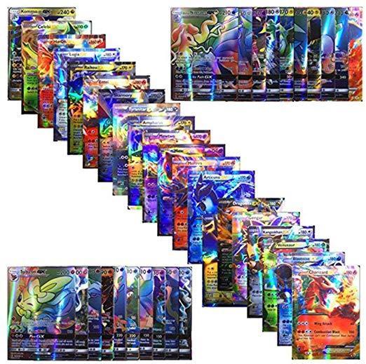 120 sztuk Pokemon karty walki Pokemon karty angielski Pokemon Flash karty Pokemon bitwa karty tanie i dobre opinie Stojąca